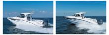 「YFR-27 EX」 「YFR-24 EX」新発売 好評のフィッシングボートに最新の多機能ディスプレイを搭載