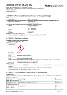 Säkerhetsdatablad | ABNET Professional