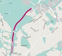 Pressinbjudan: Vi inviger Växthusvägens förlängning med ny gång- och cykelbana