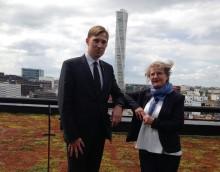 Fritzon i möte med framtidsministern om gränshinder i Öresundsregionen