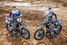 New Yamaha Factory Racing Squad to Contest 2019 AMA SX and MX Championships with YZ450F