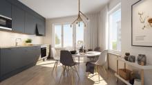 HSB säljstartar nya bostäder med gångavstånd till Globen