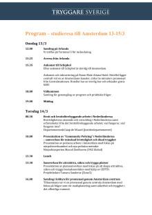 Program Amsterdam 13-15/3