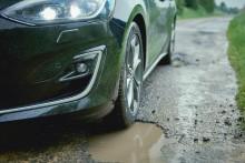 Ekstra mange veihull på europeiske veier:  Ny Ford-teknologi reduserer skadene