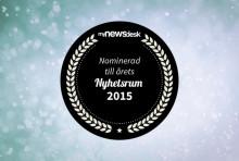 Blomsterlandet nominerat till Årets Nyhetsrum 2015