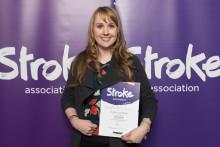Knutsford stroke survivor receives regional recognition