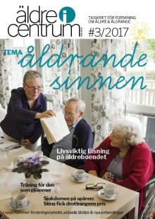 Nytt nummer av tidskriften Äldre i Centrum - tema åldrande sinnen