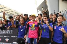 ピラポン・ブーンレット選手がシーズン7勝をあげ、自身初のチャンピオンを獲得 2019年 アジアロードレース選手権 スーパースポーツ600
