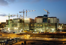 Ny milepæl for sygehusprojektet Nya Karolinska Solna og for Coor