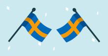 Nya svenskar  välkomnas på nationaldagen