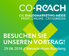 cobra GmbH auf der Dialogmarketing-Messe CO-REACH