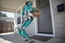 Säg hej till Digit – en robot som ska hjälpa självkörande bilar med varuleveranser