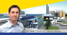 Välkommen Per Ferm - ny regional Produktchef på Teknisk isolering
