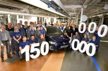 Milstolpe för Volkswagen − har tillverkat 150 miljoner bilar