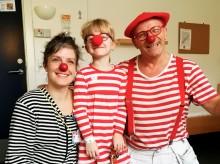 Spred Glæde kampagne: Rød klovnenæse gør en forskel for indlagte børn og familier
