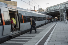 Tågresandet fortsätter att öka