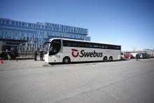 Fler Swebus-turer mellan Norrköping och Göteborg