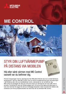 Produktinformation ME Control