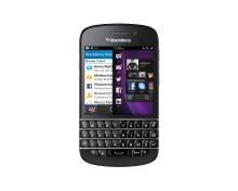 Nu finns Blackberry Q10 hos 3
