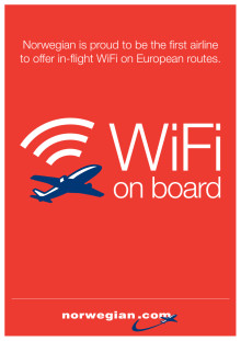FAQ - Norwegian in-flight WiFi