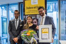 Auszeichnung für taube Hamburger Studentin
