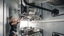 I Zalandos 130 000 kvm stora logistikcenter ställs det mycket tuffa krav på luftkonditioneringen