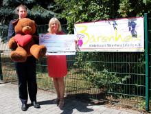 Grill-Challenge der Freiwilligen Feuerwehr Schkeuditz wird zur Spendenaktion für Bärenherz