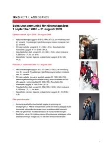 RNB Q4 2008/2009 rättelse