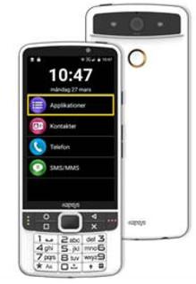 Iris Hjälpmedel lanserar: Marknadens första riktiga smartphone för synsvaga