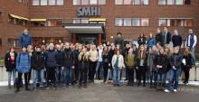 60 gymnasieelever till SMHI för att lära mer om klimatforskning