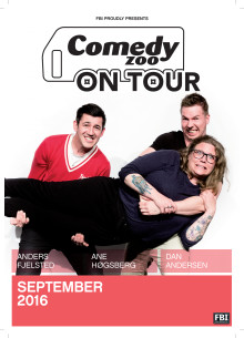 Comedy Zoo on Tour gæster Taastrup Teater