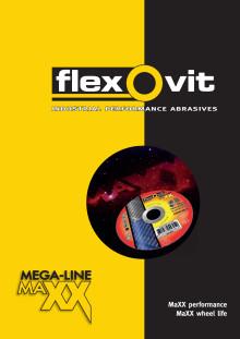 Esite Flexovit Mega-Line MaXX katkaisu- ja napalaikat