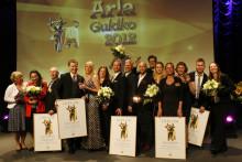 Fem glädjerusiga vinnare av Arla Guldko 2012 korade