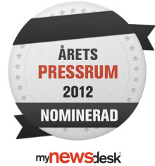ERV nominerade till Årets pressrum för tredje året i rad