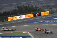 Spännande GP i Bahrain med olika däckstrategier