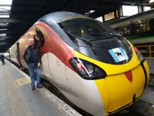 Virgin Trains flies the flag for Coventry
