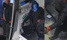 CCTV released for east London pizza shop robbery appeal