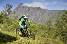 Spectacular Moutain Biking Guide launched in Arctic Norway