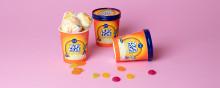 Nu lanserar vi en av svenskarnas favoritgodispåse i glassformat, Tutti Frutti!