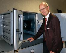 ebm-papst skänker luftbehandlingsaggregat till yrkeshögskola i Tyskland