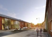 Veidekke bygger ungdomslägenheter i Kolla Parkstad