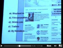 MyNewsdesk på 40:e plats av Sveriges 100 bästa sajter