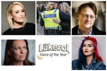 De är nominerade till Läkerol Voice of the Year 2017 – Med sina röster har de inspirerat, gjort en skillnad och skapat debatt