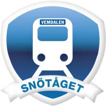 Premiärturen med Snötåget anlände till Röjan station
