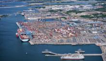 Göteborgs hamns godsvolymer 2018