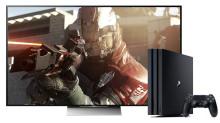 Få den ultimata spelupplevelsen genom att kombinera Sony 4K HDR TV med PlayStation®4 Pro