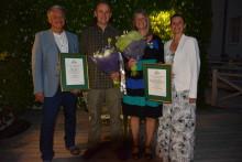 Riksförbundet Svensk Trädgårds utdelning av Kungliga Patriotiska Sällskapets trädgårdsmedaljer