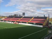 Rekordsnabb utbyggnad av fotbollsläktare i Sverige