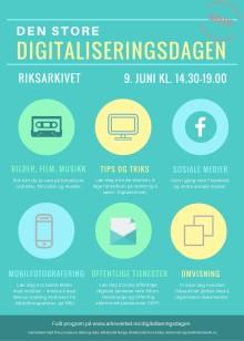 Den store digitaliseringsdagen i Riksarkivet