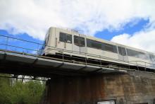 Sporveien rehabiliterer Volvat bru  i tiden 28.mai - 1.juni